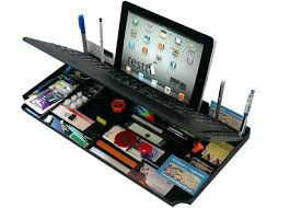Upright Desk Organizer Cool Desk Organizers 6 In 1 Desk Organizer With Keyboard And