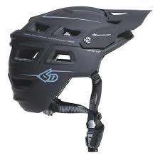 matte black motocross helmet 6d mountain bike helmets mountain bike riding gear 2017 6d atb
