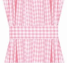 Pink Gingham Curtains Pink Gingham Door Curtain Panels Available In Many Lengths