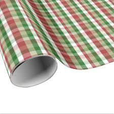 christmas plaid wrapping paper christmas plaid wrapping paper zazzle