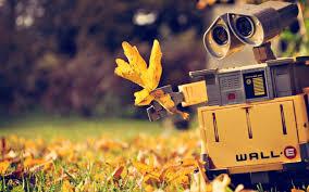 imagenes animadas de otoño descargar 2560x1600 dibujos animados otoño robots walle fondo de