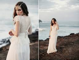 loves lace beach wedding dresses and veils 2