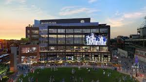 Chicago Cubs Map by Wrigley Field Renovations Bleed Cubbie Blue