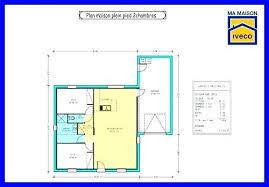 plan maison plain pied 2 chambres garage plan de maison plain pied 2 chambres et garage unique formidable