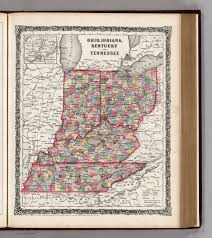 Maps Of Indiana Map Of Indiana Kentucky And Tennessee Wisconsin Map