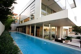 sydney lap pool cost modern with handrail acrylic outdoor cushions