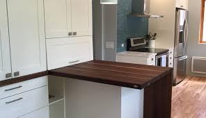 comptoir cuisine bois comptoirs en bois signature stéphane dion