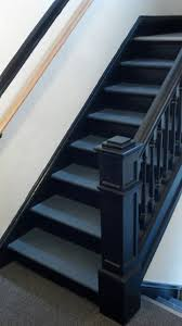 black staircase black stairway eclectic staircase boston by dishington