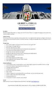 Date Of Availability Resume 3 21 14 Councilmember Gil Cedillo