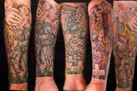metallica forearm sleeve by shaun nel of kings ave tattoo