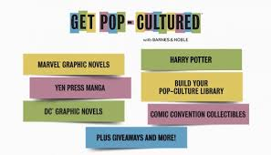 Barnes Adn Noble Celebrate Get Pop Cultured With These Great Offers At Barnes