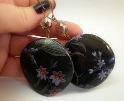 decoupage earrings season 2013 bijotti ciciotti jewelry
