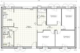 plan de maison de plain pied avec 4 chambres plan de maison plain pied avec 4 chambres gratuit avie home