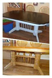 great refinishing dining table with refinishing dining room table
