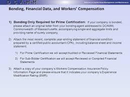 Balance Certification Letter Dcamm Contractor Certification Ppt Video Online Download