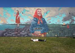 kihnu naine and the summer solstice aaron glasson my mural
