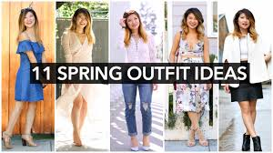 11 spring ideas spring fashion trends 2016 youtube
