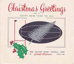 rugby xmas cards from around the world