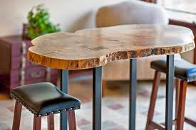 Live Edge Bar Table Live Edge Pub Table U0026 Stools In Westerville Oh
