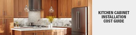 average cost of kitchen cabinets from home depot cost to install kitchen cabinets the home depot