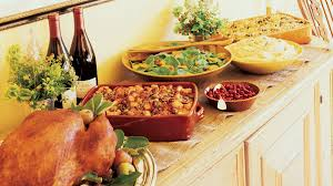 15 thanksgiving menus sunset