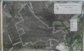 White Clay Creek State Park Map Gone Hikin U0027 Hill And Dale Preserve Nj