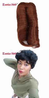 weave on short afro hair eunice hair 6 inch 28pcs pack synthetic hair straight weave with