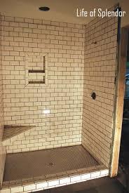 large subway tile shower bathroom com glass bathroom shower ideas with subway tile ruki