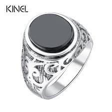 rings for men in pakistan pk bazaar men jewelry black ring for men silver plated