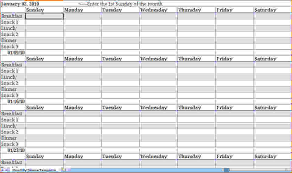 8 weekly monthly planner memo formats