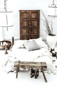 chambre style ethnique deco chambre exotique deco ethnique en bois rustique chambre a