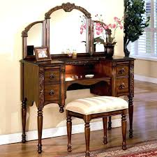Mirrored Bedroom Bench Appealing Vanity Set With Mirror And Picture U2013 Mycakes Co