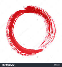 red thread zen idolza interior design large size royalty free red zen circle on white background purchase brush paint