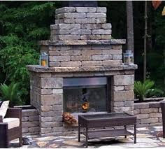 Stone Fireplace Kits Outdoor - fireplaces