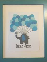 baby shower sign in book elephant alternative guest book elephant signature book baby
