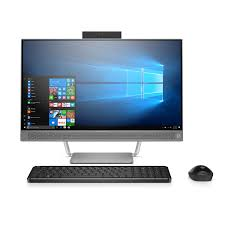 amazon com hp pavilion all in one computer intel i5 7400t 8gb