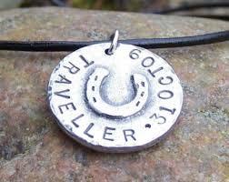 Personalized Horseshoe Horse Name Necklace Etsy