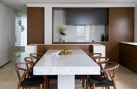 marble top dining table set minimalist dining room ideas designs photos inspirations