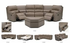 furniture palliser picard home theater seating with gray sofa and