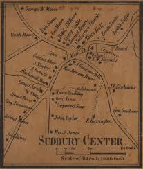 Old Map Of Suffolk County Historical Maps Of Sudbury