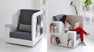 all in one desk and chair openbook armchair by british design studio tilt jebiga design