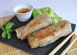 cuisine chinoise nems nems au poulet et aux crevettes en pas à pas cuisine avec