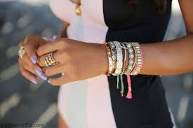 bracelet style images Style watch colorful layering bracelets trend fab fashion fix jpg