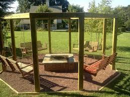 Firepit Swing Porch Swings Pit Circle Porch Swings Patio Swings