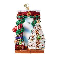christopher radko ornaments radko santa claus santa bakery 1018905