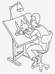 architect coloring pages realistic coloring pages