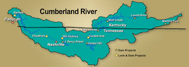 cumberland river map nashville district missions water management education series