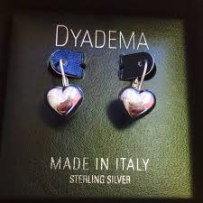 dyadema earrings 68 dyadema jewelry dyadema sterling silver heart