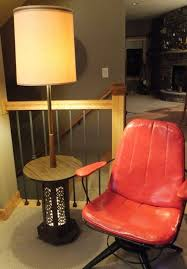 modern floor lamp with attached table militariart com