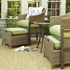 Beautiful Patio Chair With Hidden Ottoman Patio Furniture